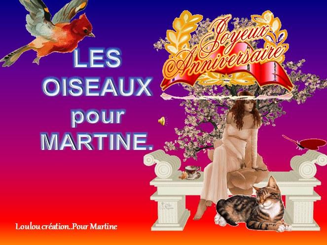 Joyeux Anniversaire Martine 2