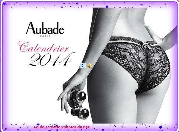 calendrier aubade 2014
