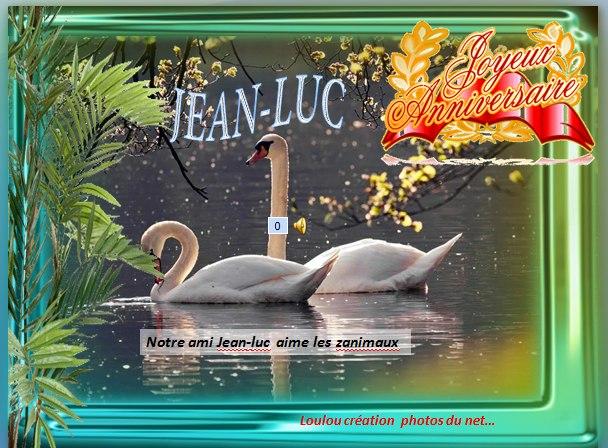 Joyeux Anniversaire Jean Luc Animaux