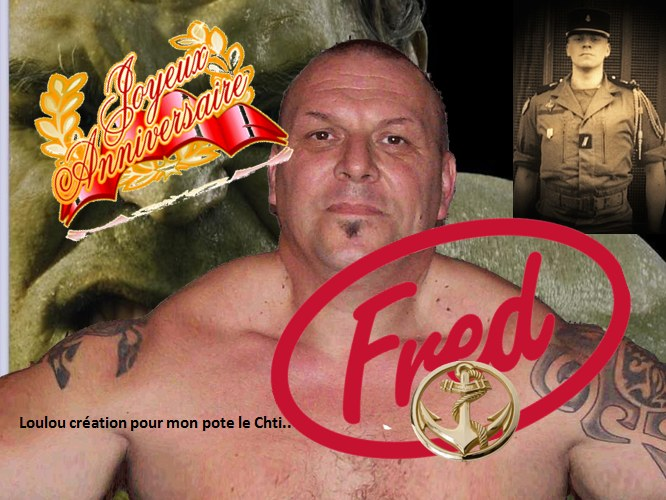 Joyeux Anniversaire Fred