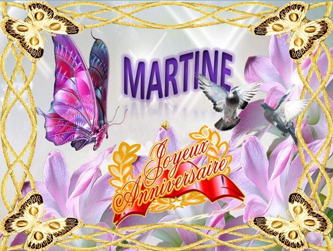 anniversaire martine chanson