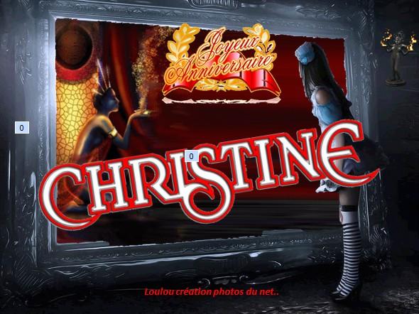 Joyeux Anniversaire Christine 23 05