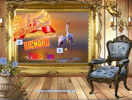 Joyeux Anniversaire Richard L Alsacien