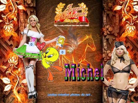 Joyeux Anniversaire Michel Le 26 08